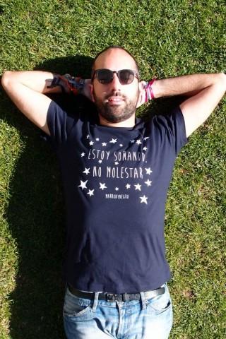 Camiseta Estoy soñando no molestar