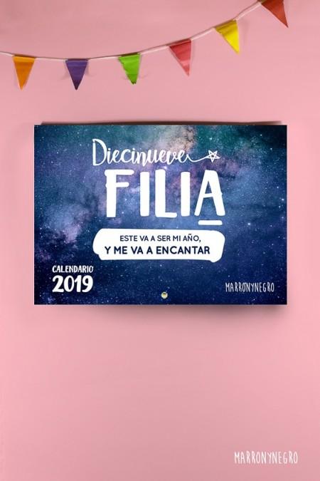 Calendario Marronynegro 2019