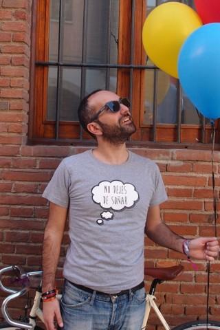 Camiseta No dejes de soñar