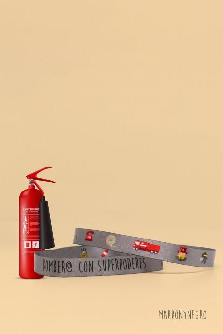 Pulsera Bombero con superpoderes