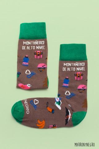Calcetines Montañer@ de alto nivel