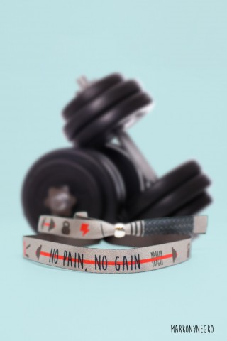 Pulsera No pain no gain