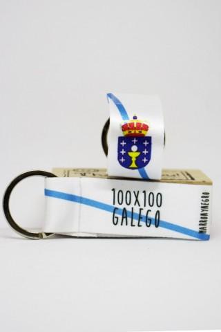 Llavero 100x100 Galego