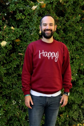 Sudadera Happy