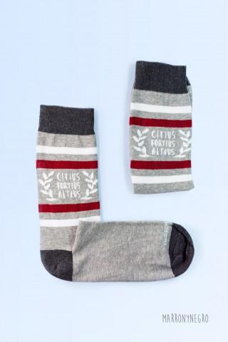 Calcetines de colores con diseño original. España