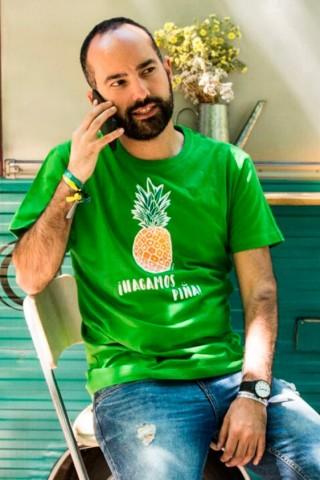 Camiseta Hagamos Piña
