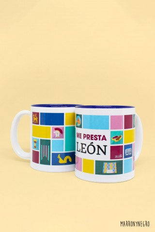 Taza Me presta León