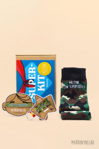 Pack Militar con superpoderes