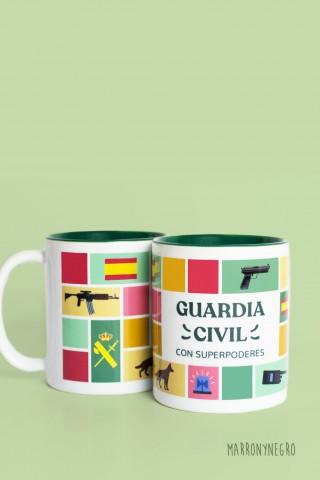 Taza Guardia Civil con...