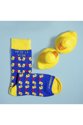 Calcetines largos con dibujos divertidos. Socks