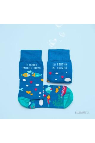 Calcetines largos con dibujos. Hechos en España. Socks