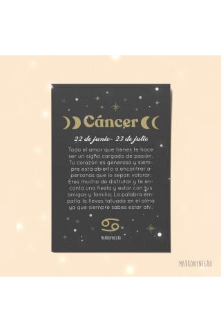 Postal horóscopo cáncer