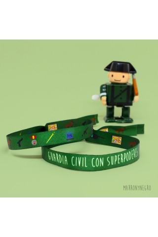 Pulsera Guardia Civil. Idea de regalo para guardia civil
