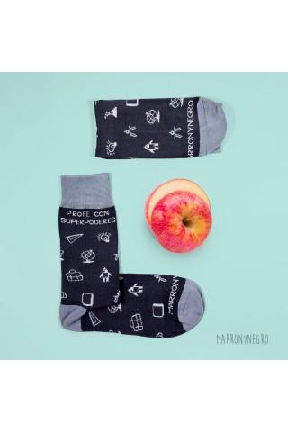 Calcetines con diseño exclusivo para profesores
