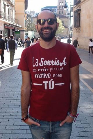 Camiseta La sonrisa es mía...