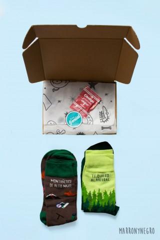 Pack 2 calcetines Te quiero...