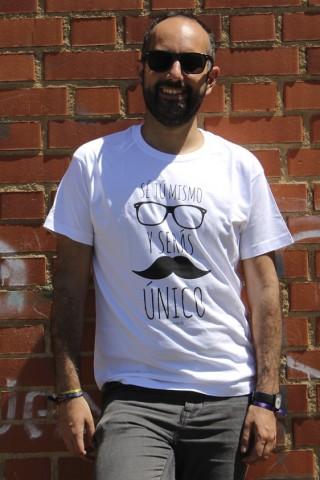 Camiseta Sé tu mismo y serás único