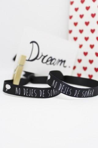 Pulsera No dejes de soñar