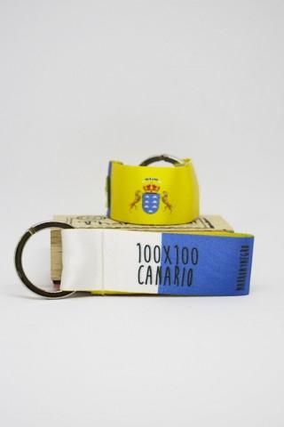 Llavero 100x100 Canario