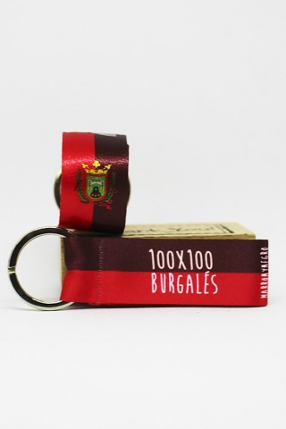 Llavero 100x100 Burgalés
