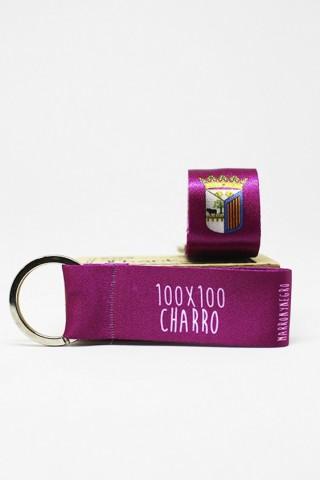 Llavero 100x100 Charro