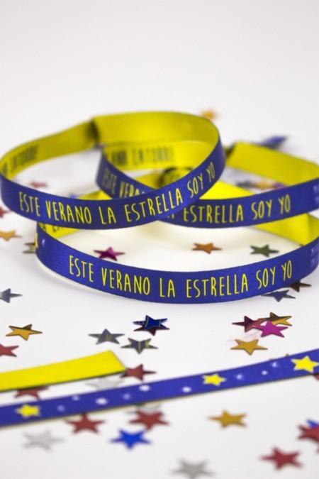"""Pulsera """"Este verano la estrella soy yo"""""""