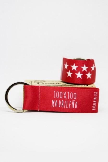 Llavero 100x100 Madrileño