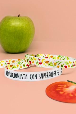 Pulsera Nutricionista con superpoderes