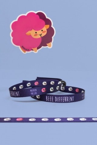 Pulsera Beee Differrent
