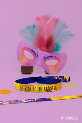 Pulsera La Vida es un Carnaval