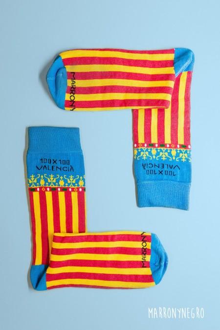 Calcetines 100x100 Valencià