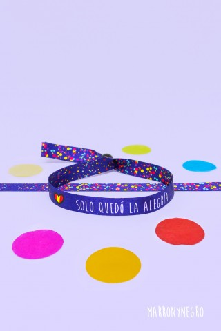 """Pulsera Especial Eurovisión """"Solo Quedó La Alegría"""""""
