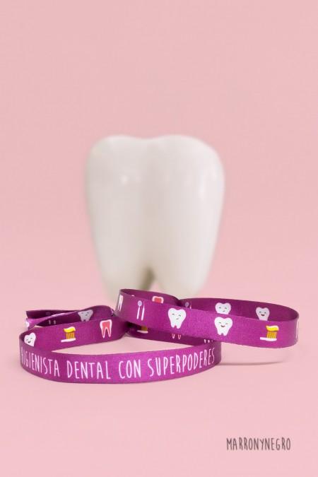 Pulsera Higienista Dental con superpoderes