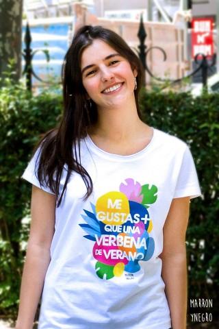 Camiseta me gustas más que una verbena de verano