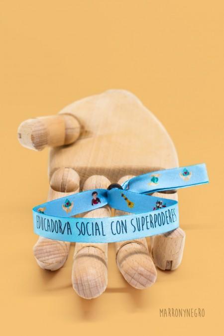 Pulsera Educador/a Sociaed con superpoderes