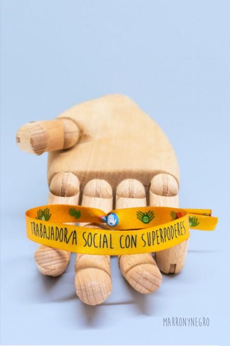 Pulsera Trabajador/a social con superpoderes