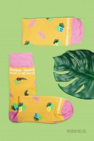 Calcetines Hakuna Matata - Vive y sé feliz