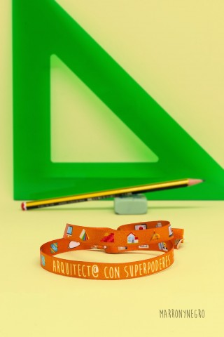 Pulsera Arquitect@ con superpoderes