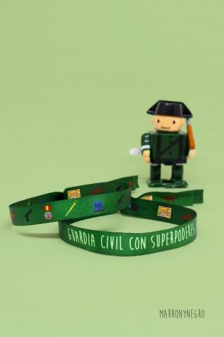 Regalo para Guardia Civil. Pulsera guardia civil