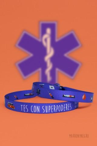 Pulsera TES con superpoderes