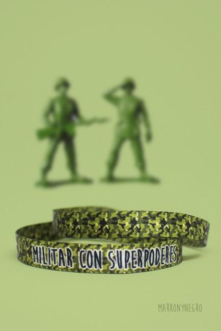 Pulsera Militar con superpoderes
