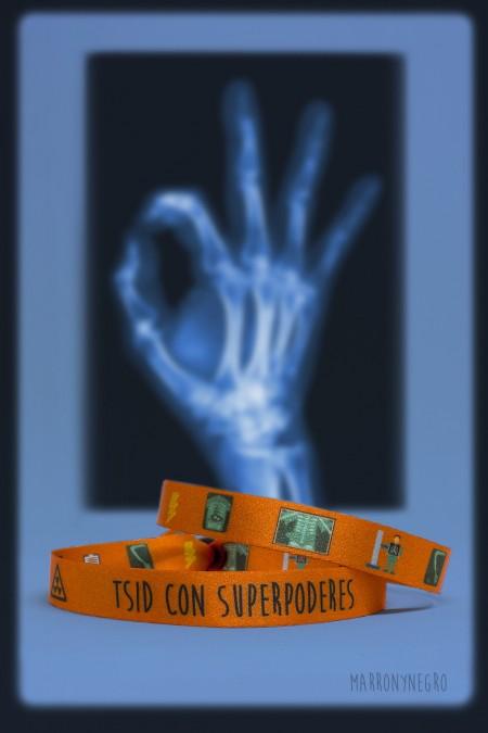 Pulsera TSID con superpoderes