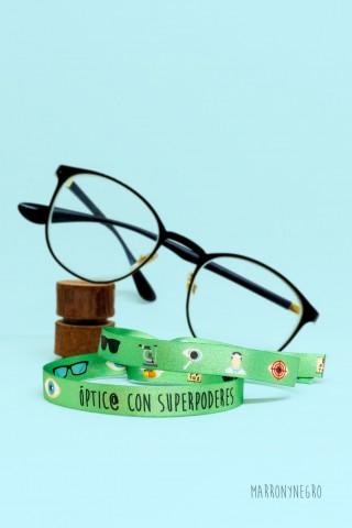 Pulsera Óptico con superpoderes