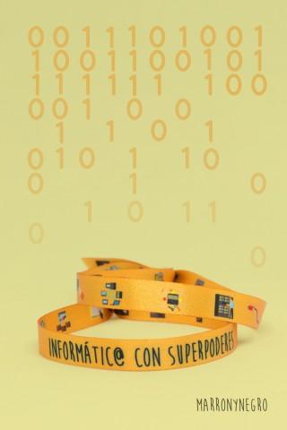 Pulsera Informáti@ con superpoderes