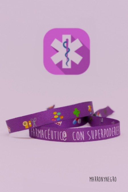 Pulsera Farmacéutic@ con superpoderes