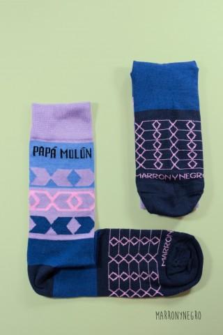 Calcetines Papá Molón - Morado