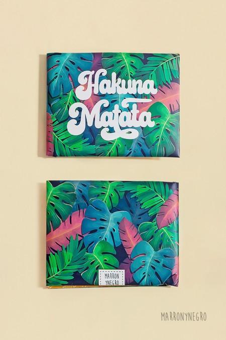 """Cartera """"Hakuna Matata - Vive y sé feliz"""""""