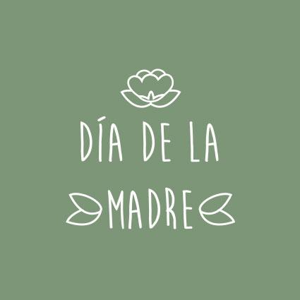 DÍA DE LA MADRE MARRONYNEGRO